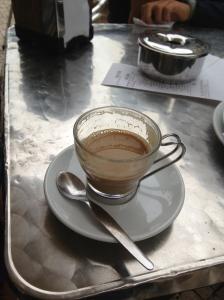 espresso con leche