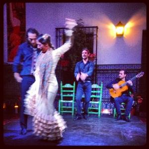Traditional Flamenco music and Dance. ¡Viva el duende!